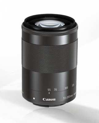 Canon Lens EF-M 55-200 mm. F4-6.3 IS STM + HOYA HD FILTER + LENS HOOD
