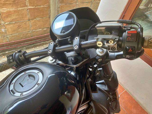 Honda rebel 500 with ALL the bells and whistles--green book in hand