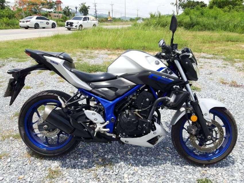 Yamaha MT03 ( full service record )