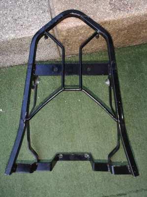 A metal stand Yamaha Aerox
