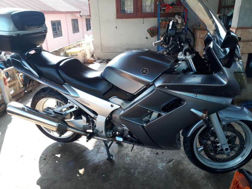 FREE DELIVERY ,rare fjr1300,in thailand