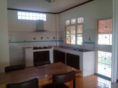 3-bedroom house, 2 bathrooms, in Phetchabun Homeland
