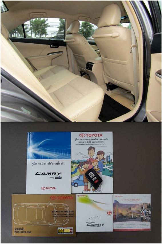 Camry 2.5 HV ตัว Hybrid รถสวยเดิม ขับดี พร้อมใช้