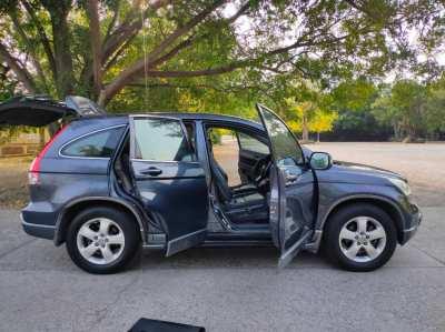ขาย รถยนต์ Honda CR-V สีเทา ปี2009 พระพุทธบาท สระบุรี