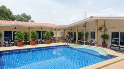 Guest house, sleeps 52 people, near Pattaya, Silver-lake, for Sale
