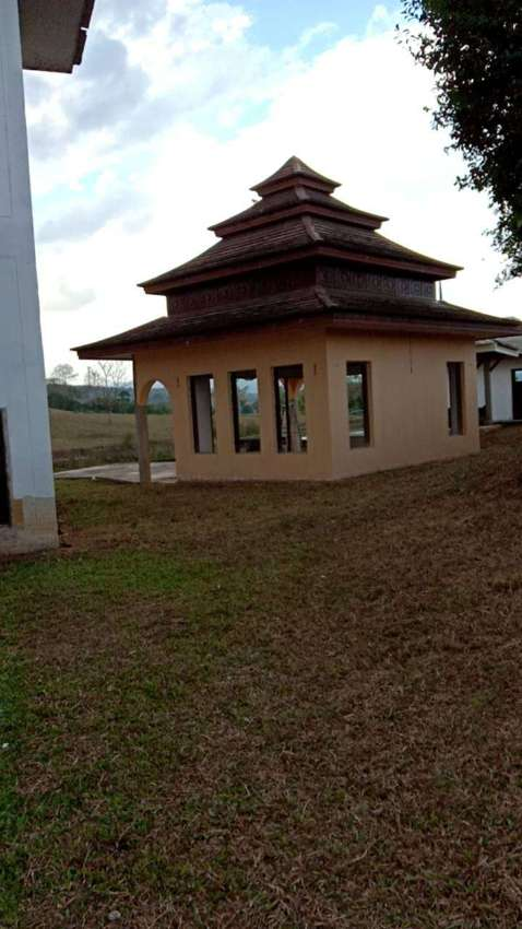 ฿6999000/50% REDUCED - 483m2 - 60% complete Thai Estate in Mae Taeng