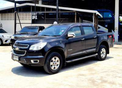 ขาย กระบะ Chevrolet colorado ltz 2.8auto สีดำ ปี2013