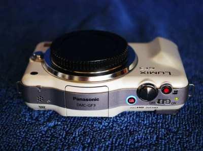 Panasonic Lumix DMC-GF3 Pearl White Body, GF3, GF-3, G-F3