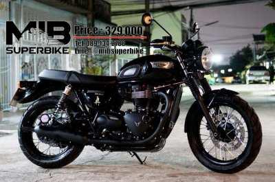 [ For Sale ] Triumph Bonneville T100 black 2017 with Ohlins suppension