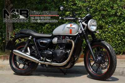 [ For Sale ] Triumph Street Twin 2017 Perfect condition Only 4,xxx km.