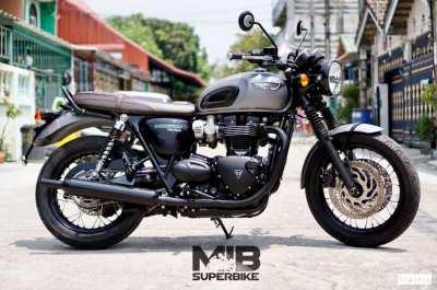 [ For Sale ] Triumph Bonneville T120 2017 Only 8,xxx km...!!!