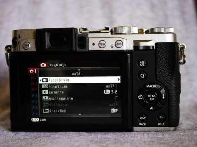 Fujifilm X30 Wi-Fi Camera with F2.0-2.8 Fujinon Lens (28-112mm)
