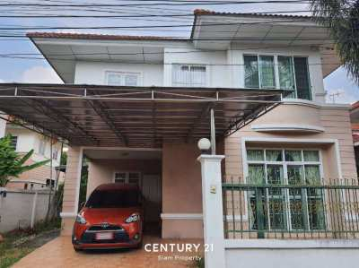 Single house at Baan Lalin Rattanathibet-Westgate for SALE!.