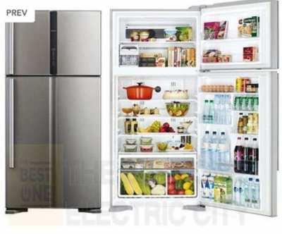 Large Hitachi Fridge Freezer