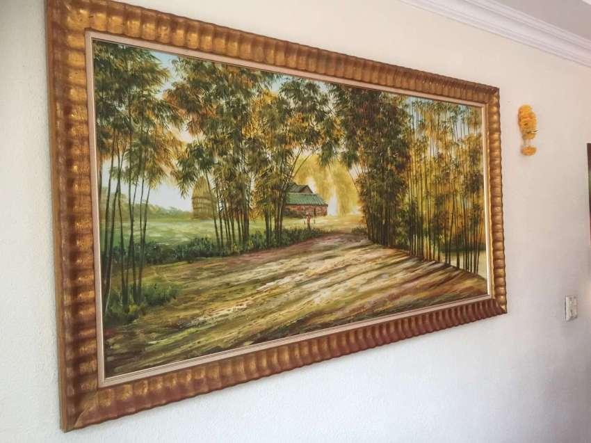 Painting mural handmade