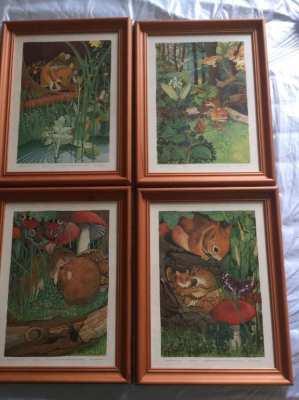 Four anilmal motifs