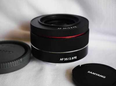 Samyang AF for Sony FE 35mm f2.8 Black Lens