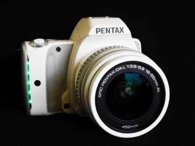 Pentax K-S1 20.12MP DSLR Camera White Kit with 18-55mm lens