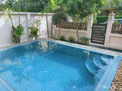 Lovely pool villa with 2 bedrooms and 2 bathroom