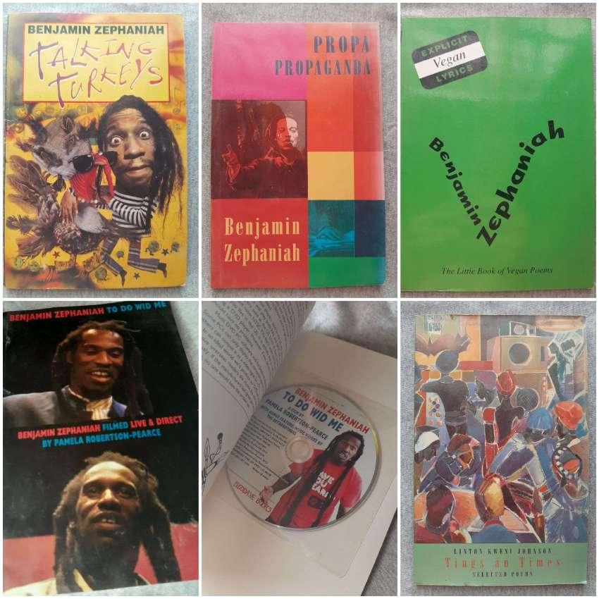 Poetry - Benjamin Zephaniah / Linton Kwesi Johnson