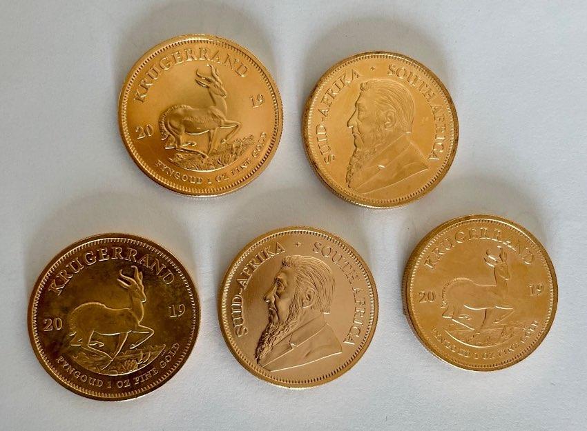 Gold - Kruger Rands