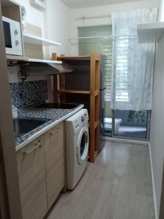 BTS udomsuk/elio delray condo/45sqm/full furniture/sukhumvit64