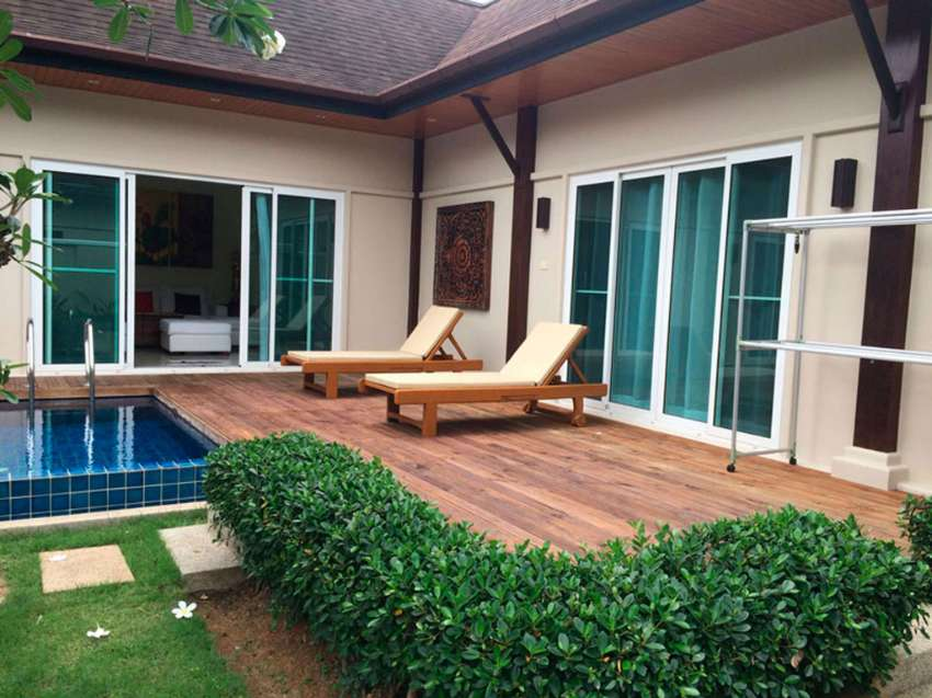 A four bed pool villa for sale