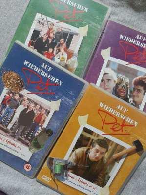Aufweidersehn Pet - Series 1, 4 Disc set.