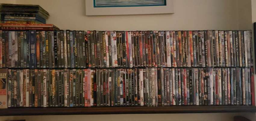 DVD's for sale.