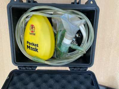 Diving emergency Oxygen Regulator and tank for sale