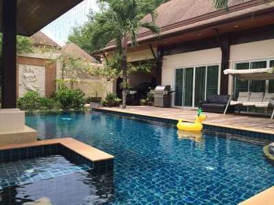 A 3 bed pool villa for sale near BIS