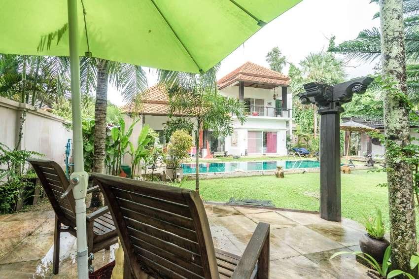 A 4 bedroom pool villa for sale in Rawai