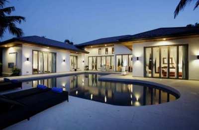 A 3 bedroom pool villa for sale