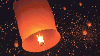 Buy Thailand Flying Lanterns KOY LOY for Wedding, Birthday, Company