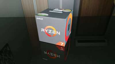 AMD Ryzen 7 1700 Processor with Wraith Spire RGB LED Cooler