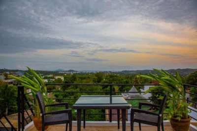 A Sea View 4 Bed House in Rawai for Sale