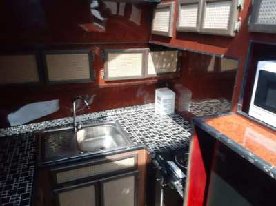 HOT SALE fully equipped high speed yacht. After major overhaul
