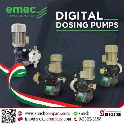 Digital dosing pump เติมสารละลายแบบอัตโนมัติ