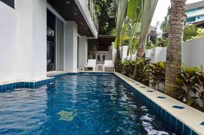 A 4 bedroom pool villa for sale
