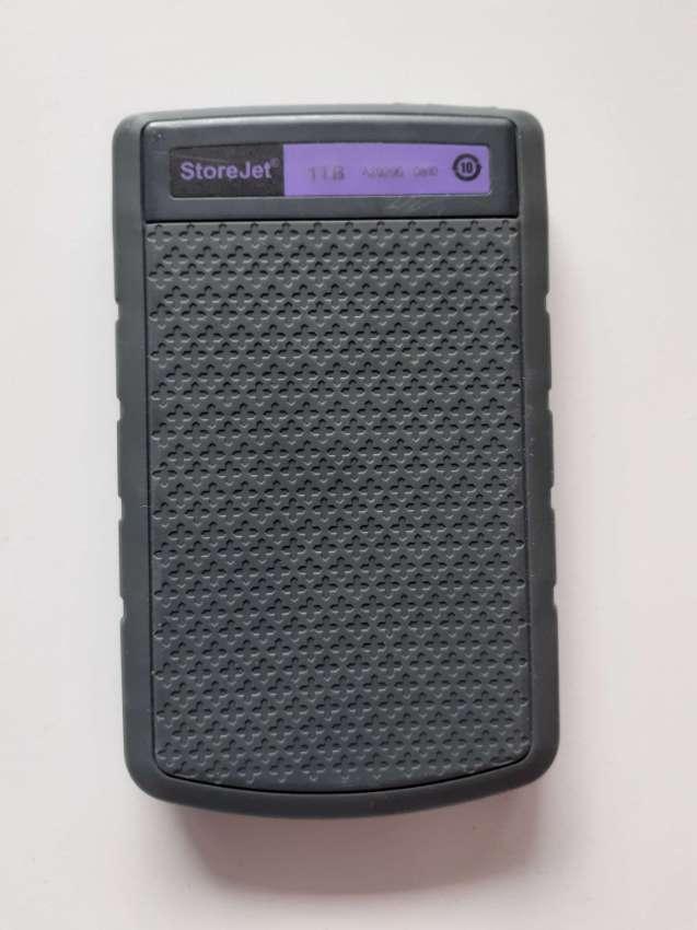 TRANSCEND STOREJET PURPLE 1TB USB 3.0 EXTERNAL HARD DRIVE (HDD)