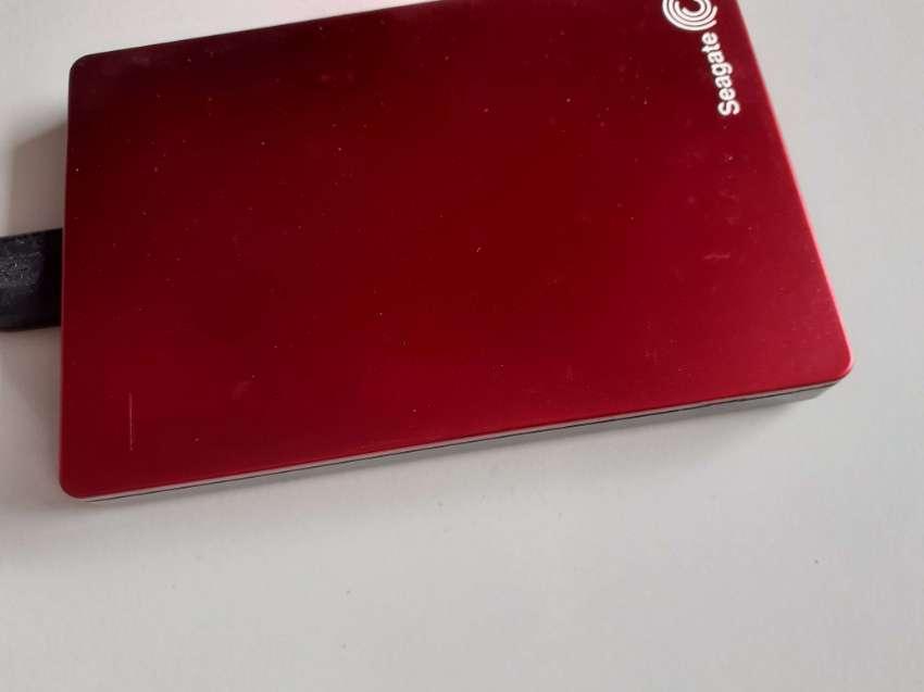 SEAGATE BACKUP PLUS SLIM RED 2TB USB 3.0 EXTERNAL HARD DRIVE (HDD)