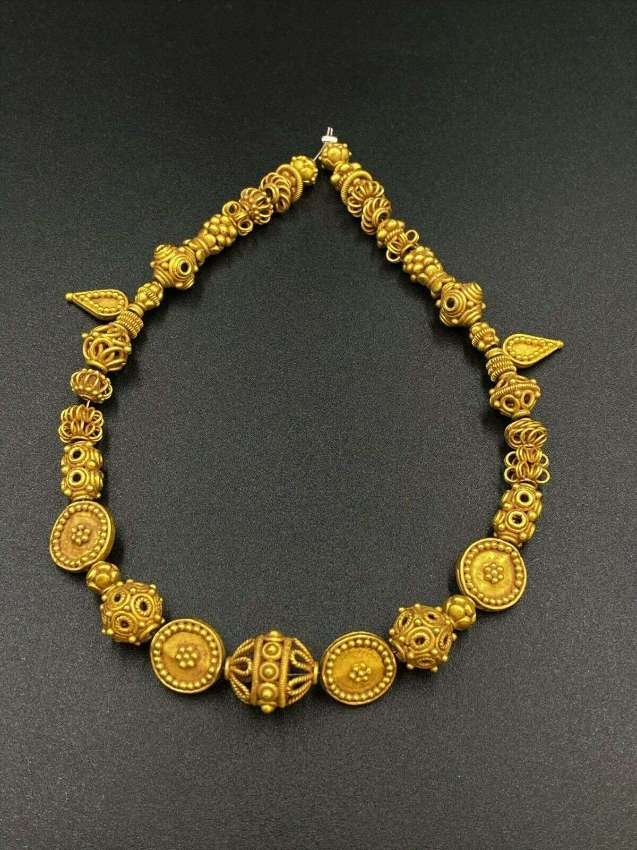 Old Ancient Gold beads from Ancient Pyu culture from Burma