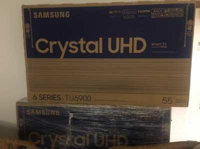 "55"" Samsung Crystal 4K TU6900 6 Series  *Brand New - Sealed*"