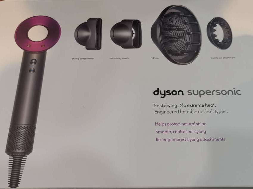 DYSON Supersonic Hair Dryer (Unwanted Gift)
