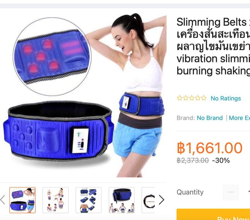 Slimming belt for sale Samui