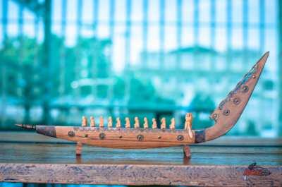 เรือไม้ โบราณ สวยมากๆ