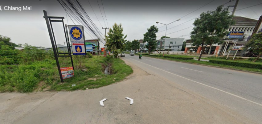 Land for Sale San Sai, Chiang Mai 2 rai