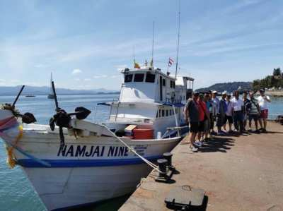Fishing Tour Boat for sale