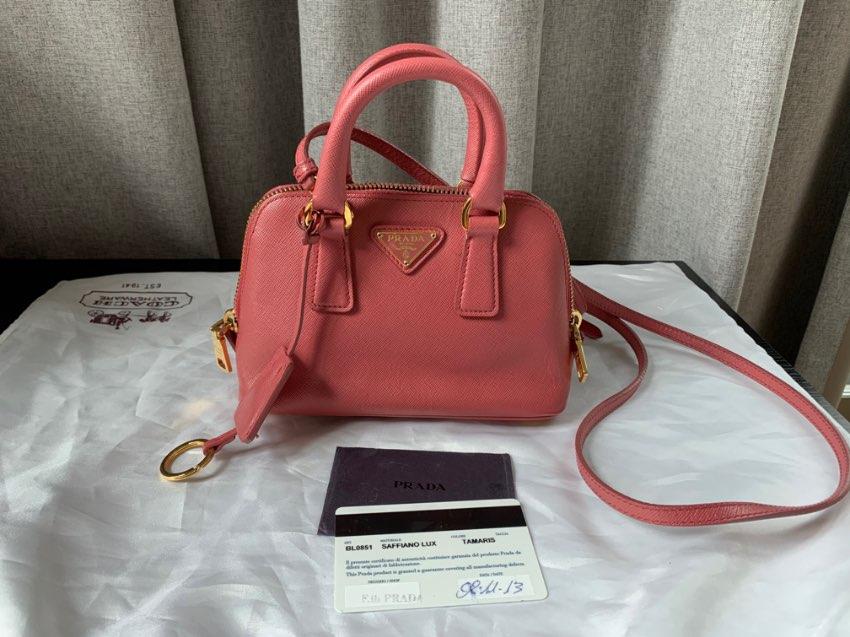 กระเป๋า Prada Saffiano Lux Tamaris