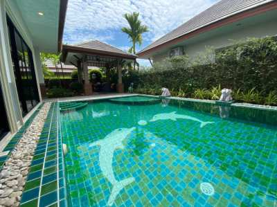 Artsy Pool villa with land size 312 SQM. for sale in Pattaya City